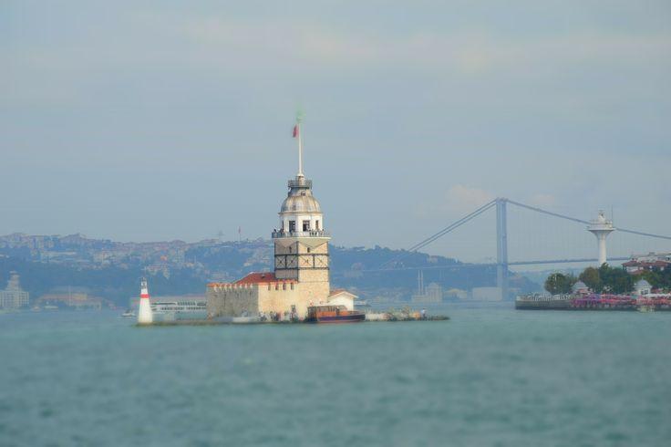 Maidens Tower & Bosphorus