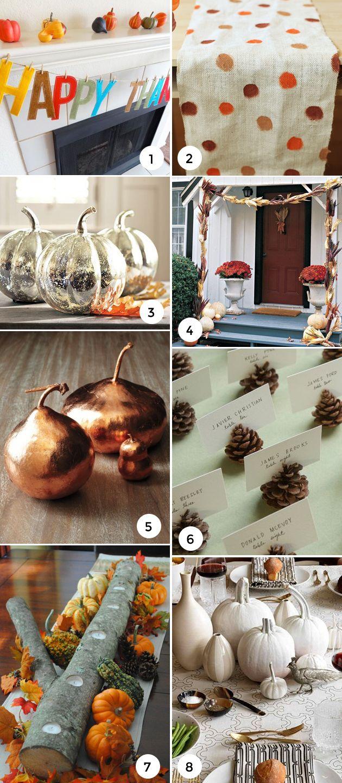 Thanksgiving Decor DIY on the Interior Collective