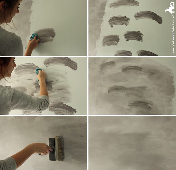 Best 25 diy wall painting ideas on pinterest painting - Painting interior concrete walls ...