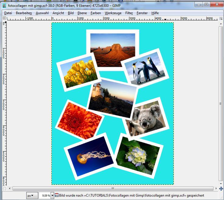 #Fotocollage erstellen mit #Gimp. Ausführliches #Tutorial hier in Deutsch: http://www.postergruppe.de/blog/fotocollage-erstellen-mit-gimp