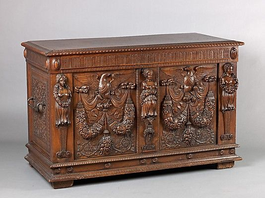 Mid-19th century French Credence (chest) at the Metropolitan Museum of Art, New York