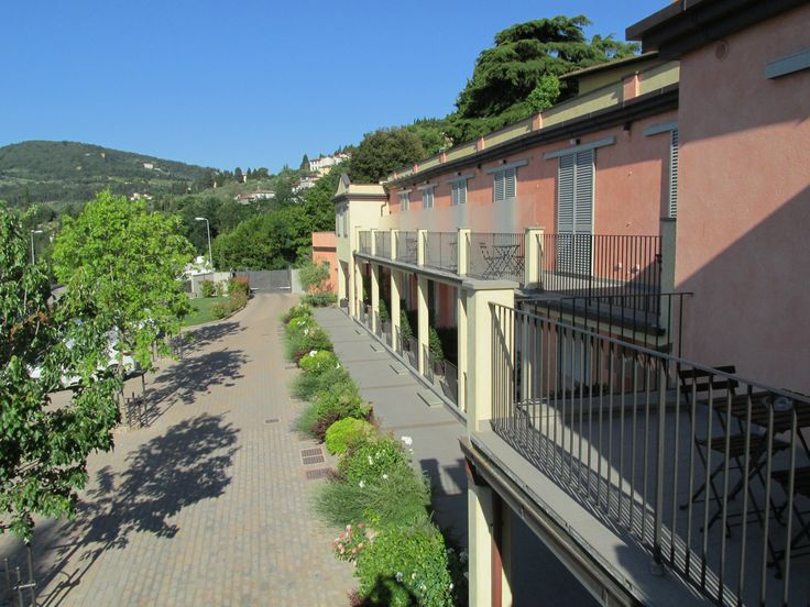 Residence Fiesole balconi e piazzale