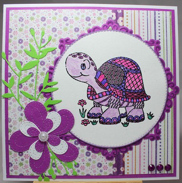 Les cartes de Blueberry: Miss Turtle