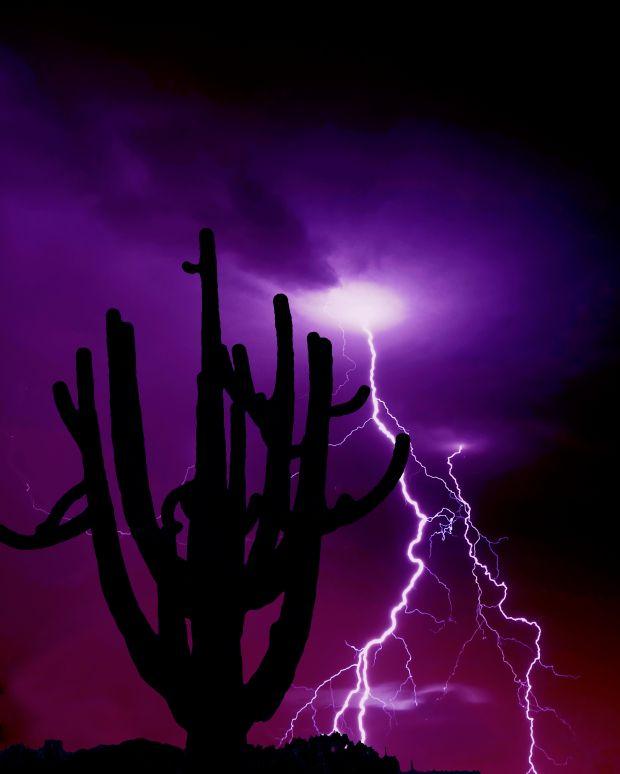Monsoon in AZ.