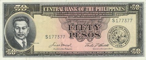 1951; 50Php