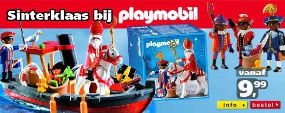 Sinterklaas Playmobil