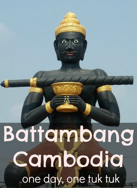 An immense day out in Battambang Cambodia. A one day tour by tuk tuk with so many things to do and see