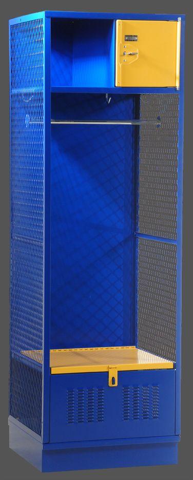 Angle Iron Framed All Sport Locker   Athletic Lockers   Varsity Lockers
