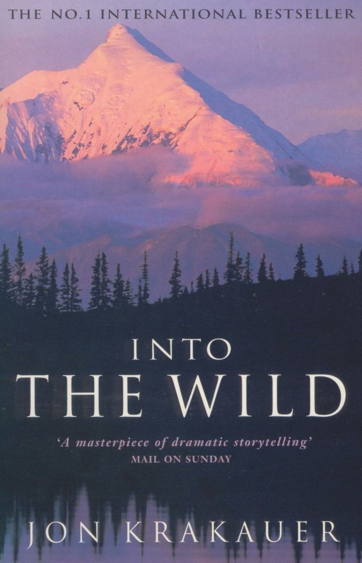 Into The Wild by Jon Krakauer. The story of idealist Christopher Johnson McCandless, and his travels through the Alaskan wilderness. A story of sacrificial love and the search for truth.