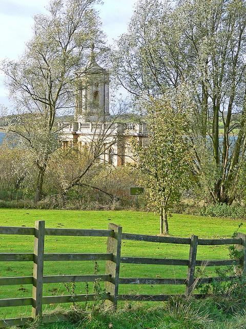 Normanton Church, Rutland Water, UK