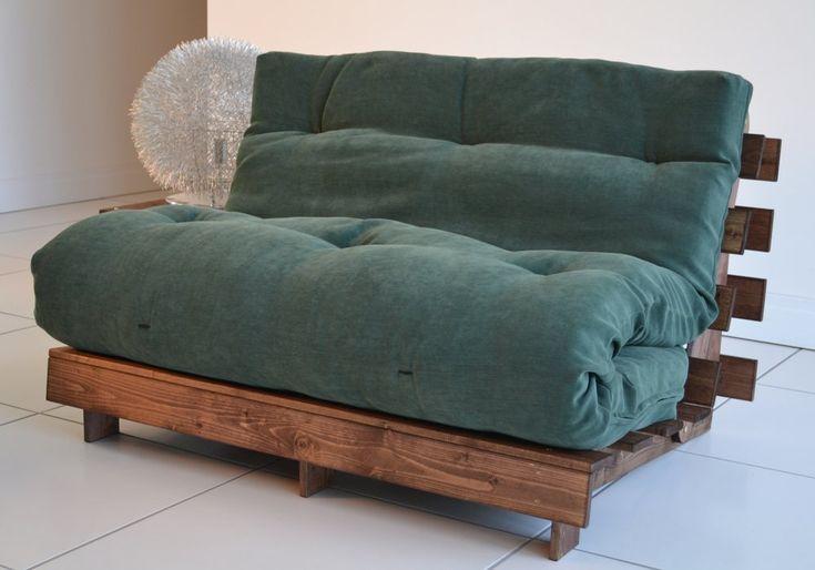 Two Person Futon | The Best Wood Furniture, futon, wood futon, wooden futon…