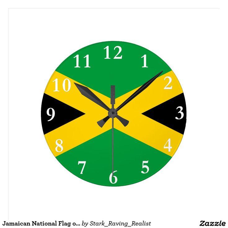 Jamaican National Flag of Jamaica