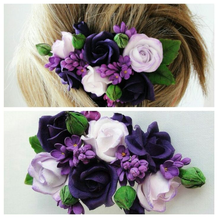 All flowers are made completely by hand from Claycraft by deco - air dry clay…