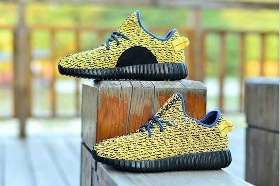Free Shipping Only 69$ WMNS Kanye West Adidas Yeezy 350 Boost Low Yellow Black