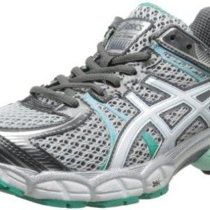 ASICS Women's GEL-Flux Running Shoe,Lightning/White/Mint,8 M US