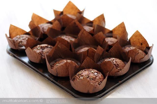 Pudingli Muffin Tarifi   Mutfak Sırları