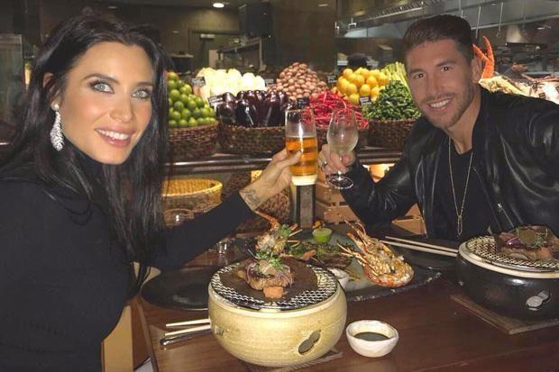 Sergio Ramos enjoyed a date-night with stunning girlfriend Pilar Rubio
