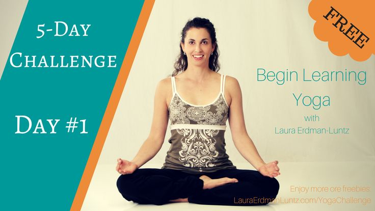 Click for Day #1 Video. Basic standing poses - taught slowly and easily!