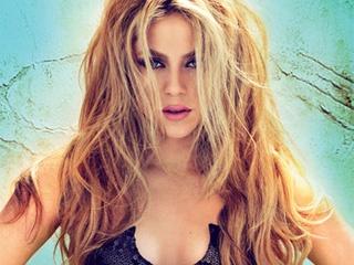 Shakira.  Love her hair here.