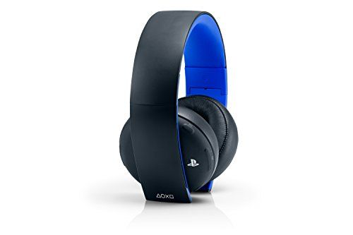 Discounted PlayStation Gold Wireless Stereo Headset - Jet Black