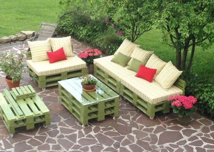 Prepare Amazing Projects From Wooden Pallets. Pallet Outdoor FurniturePallet  ...