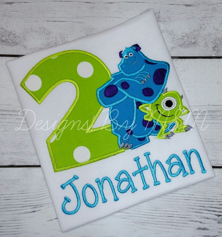 Monsters Inc. Birthday Shirt, Mike and Sulley Birthday Shirt/ Bodysuit by DesignsByMMBoutique on Etsy https://www.etsy.com/listing/219641489/monsters-inc-birthday-shirt-mike-and