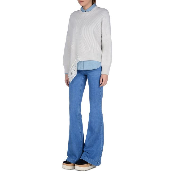 Shop the Supreme Blue 70's Flare by Stella Mccartney at the official online store. Discover all product information.