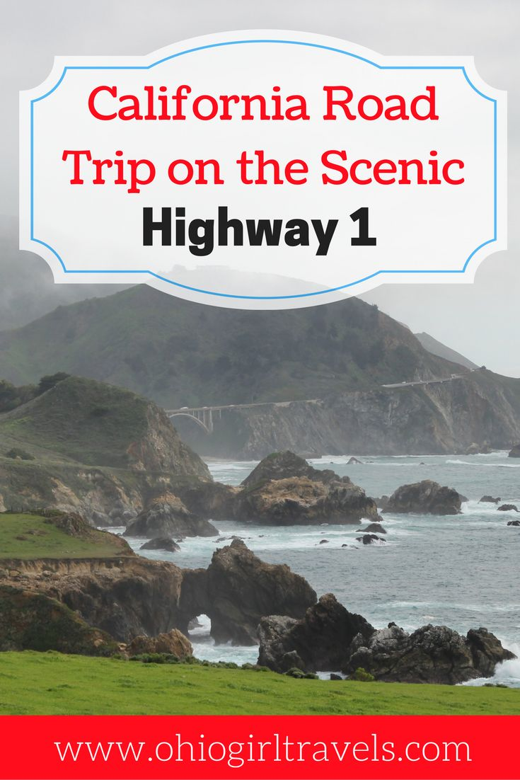 A road trip on Highway 1 has been on my travel wish ever since I can remember, but NOTHING prepared me for the absolutely breathtaking views I saw while driving on Highway 1. The majestic Big Sur Coastline never looked better. If you want to see something that looks almost too beautiful to be real, a trip on Highway 1 is right up your alley. You'll definitely want to save this to your travel board!