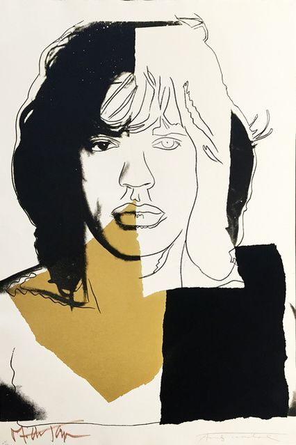 Andy Warhol | Mick Jagger, II.146 (1975) | Available for Sale | Artsy