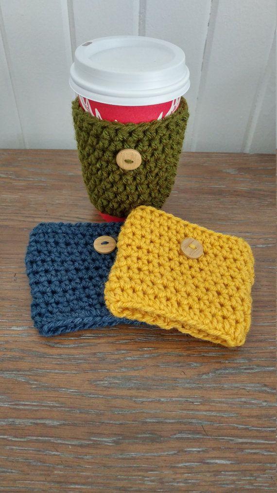 Manchon de tasse/Tasse confortable par CrochetColori sur Etsy