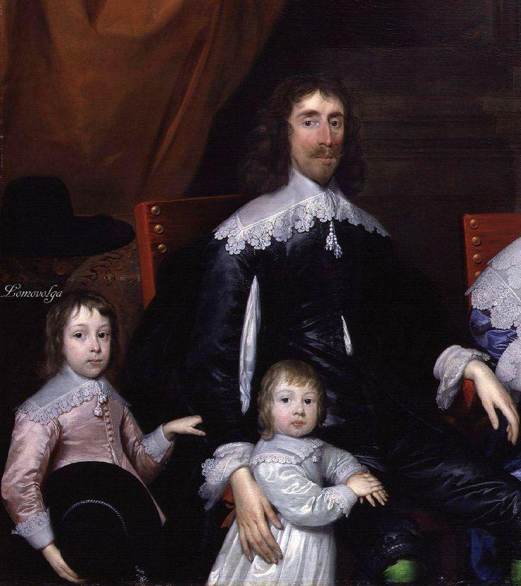 The Capel Family. Cornelis Janssens van Ceulen (British artist, 1593-1661)