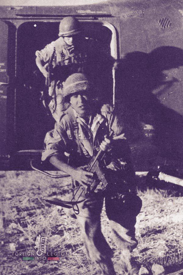 2e REP legionnaires in north-eastern Algeria, 1957