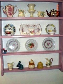 'Katie'  by www.meadow-made-vintage.co.uk  painted in Farrow & Ball's Cinder Rose