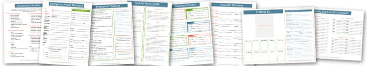 "Your Own Important Documents Grab and Go Binder 15 Free Printable Documents to Quickly Build an Extensive ""Grab and Go"" Emergency Binder Download Your 15 Pages If all you want are 15 pages (details below) for your family's important documents grab and go binder, then you can download them by clicking below. Download Your 15 …"