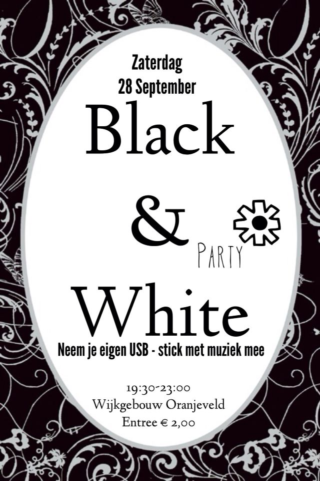 52 best BLACK & WHITE PARTY images on Pinterest | Cakes, Craft and ...