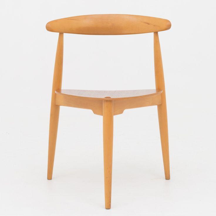 FH 4103 - Heart chair in teak