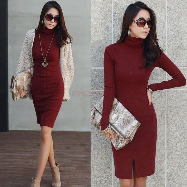 Sweater Dress For Christmas Party