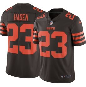 Men's Color Rush 2016 Limited Jersey Cleveland Browns Joe Haden #23