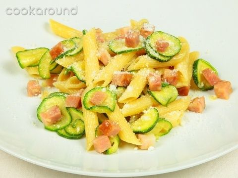 Penne  Saporite alle zucchine e pancetta  A friend of mine in Naples fixed this for dinner one evening and it was wonderful!!  Even though the recipe is in Italian, it's pretty easy to understand.