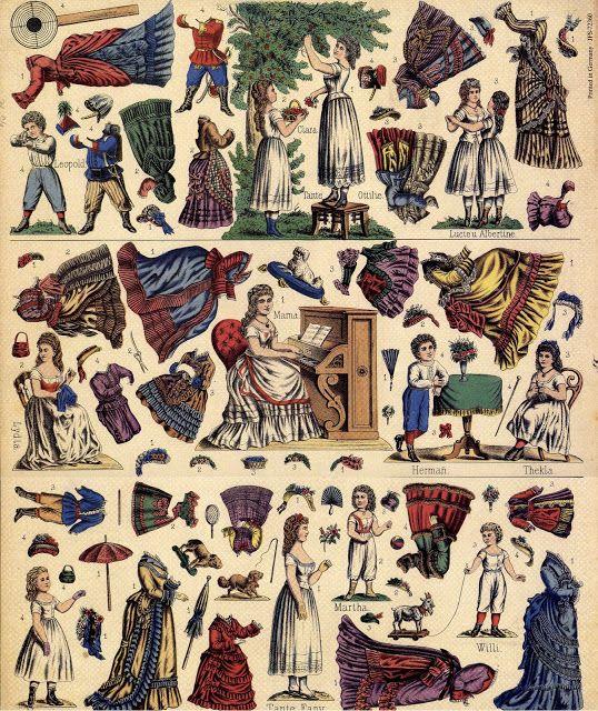 Aankleedpoppen op centsprenten - centsprent - Picasa Webalbums