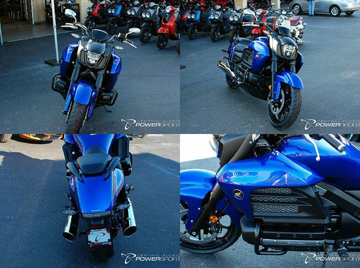 This as good as new Honda 2014 Gold wing Cruiser Motorcycle is just arrived on the floor, it's Legendary Power Groundbreaking Style. This Metallic blue 1832 cc powerful Cruiser Motorcycle has Horizontally-opposed, 6-cylinder, SOHC engine. You can get this iconic style Honda Gold wing Cruiser Motorcycle by Central Florida PowerSports for $ 17999 in Kissimmee, FL, USA.  Get specs and free price quote at http://www.usamotorbike.com/used-bikes/2014/cruiser-motorcycles/honda/gold-wing/6058/