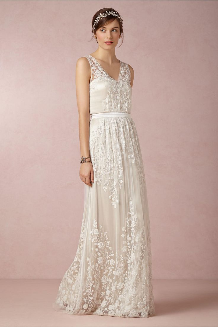 Sian Gown from BHLDN. Designed by @catherine gruntman gruntman Deane.