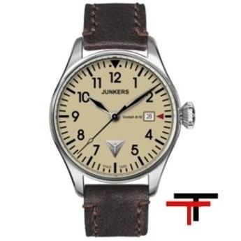 Reloj Junkers Cockpit Crema GMT  http://www.tutunca.es/reloj-junkers-cockpit-crema-gmt