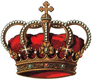 Итальянская геральдическая королевская корона