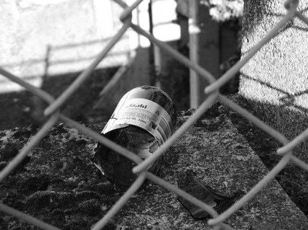 Broken Bottle Photograph Karen Lawson New Zealand Art