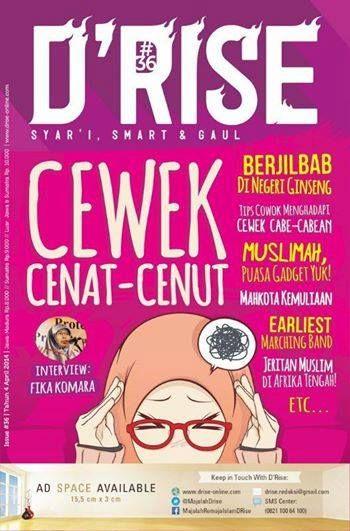 Drise Edisi #36 Cewek Cenat-Cenut | Majalah Remaja Islam DRise - Bacaan Pas Remaja Cerdas | Terbit setiap bulan - Keagenan 0858 10 400 774
