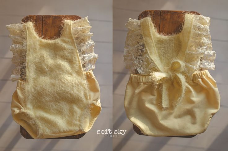 Image of ~ HAVEN YELLOW~ 6mo+ baby romper