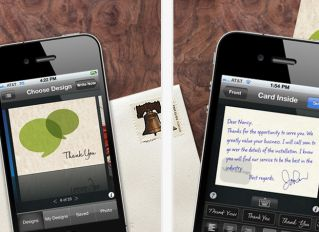 Send your paper thank you notes right from your #iPhone! - so handy!Iphone App, Send Paper, Send Real, Iphone Wond, Brilliant, Thank You Cards, Real Paper, Paper Cards, Cards App