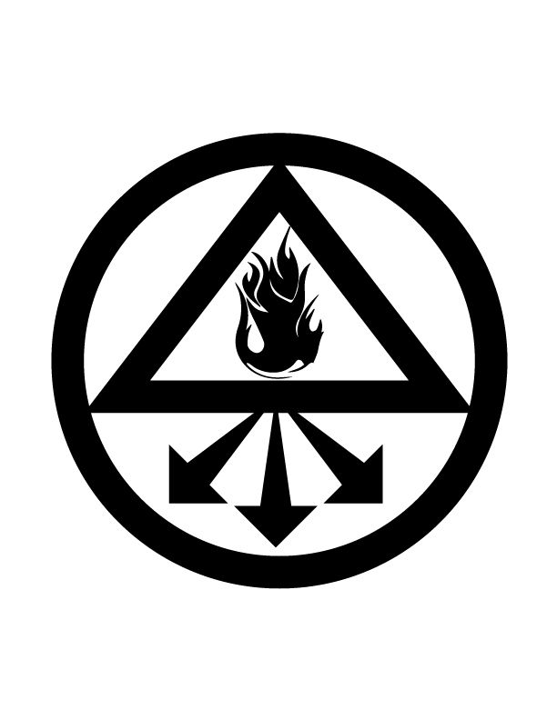 This symbol is from the comic series and movie Constantine. It is combined with the words 'into the light i command thee' This was used to bring forth any hidden aetherial conspirators that might be lurking or avoiding detection. I have included this on my sleeve as i represents my disdain for dishonesty. I've always strived to be honest wherever possible and this symbol shows how I have no time for liars or those that would deceive.