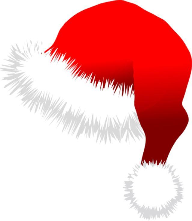 Clip Art Of Hats: Santa Hat
